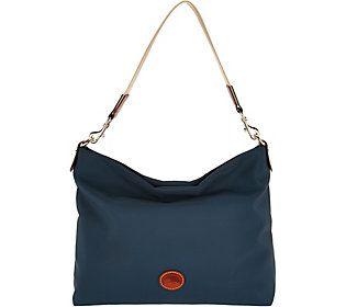 Dooney & Bourke Nylon Extra Large Hobo Handbag -Courtney