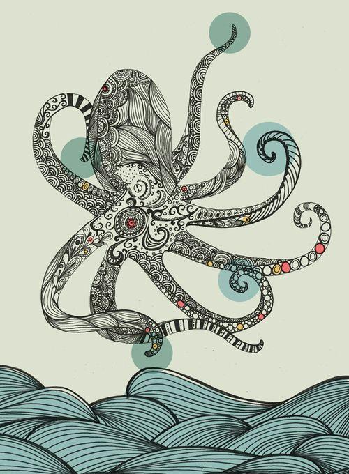 """""""Sea Creatures"""" by Rachel Russel"""