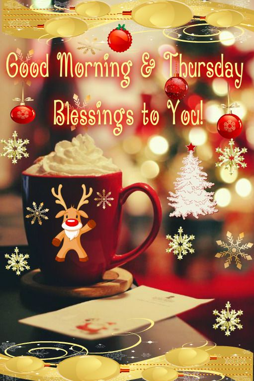 Good morning sister and all, happy Thursday, God bless♥★♥.