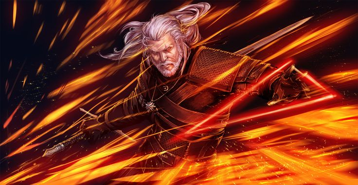 #AweSomEilluStrationS | The Witcher 3_Geralt by YamaO on deviantART