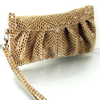 Leather clutch purse $42