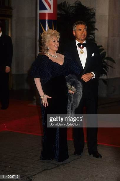 zsa zsa and frederic | Frederic Prinz Von Anhalt Stock Photos and Pictures ...