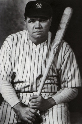 In 1919, the Boston Red Sox sells Babe Ruth to the Yankees...the rest is history!