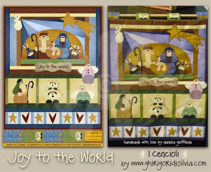 Cenciolo JOY to the WORLD by Ghirigori di Silvia di GhirigoridiSilvia su Etsy