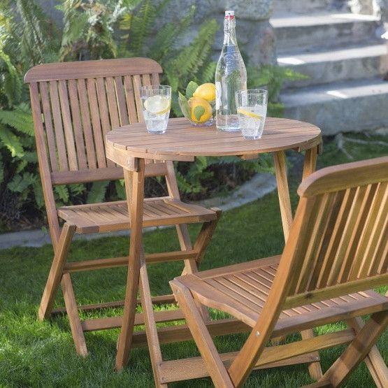 17 best ideas about bistro set on pinterest balcony ideas veranda ideas and small balcony garden - Bistro sets for small spaces collection ...
