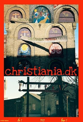 """www.CHRISTIANIA.DK ~ independent web site  ~ The collage of photos taken by Ole Henriksen in 1972 as on a poster for the book """"Christiania År 1 ~ Christiania Year 1"""" (published 2010)  http://www.multivers.dk/multivers/viewbook?ov_id=1636&shop_productid=1636"""