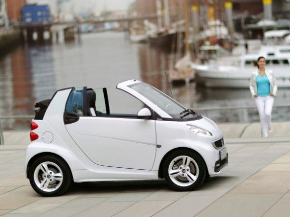 Mercedes Smart Car Convertible
