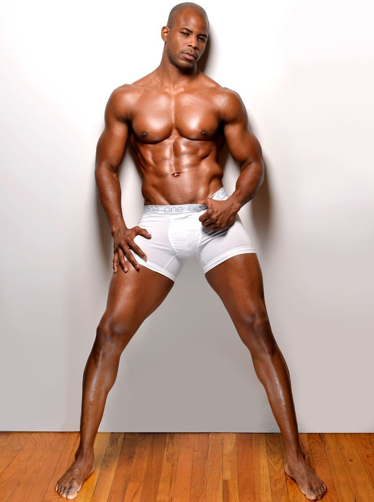 African american male model underwear photos