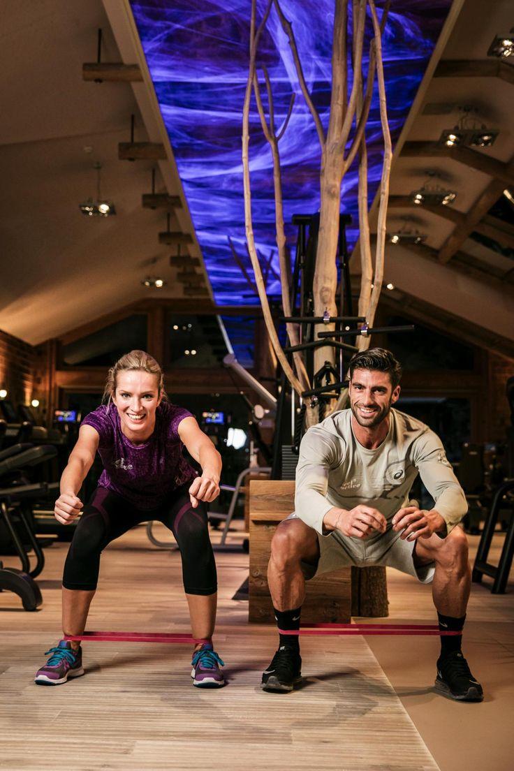 Personaltraining @ STOCK resort 190 qm Fitnessarea - www.stock.at