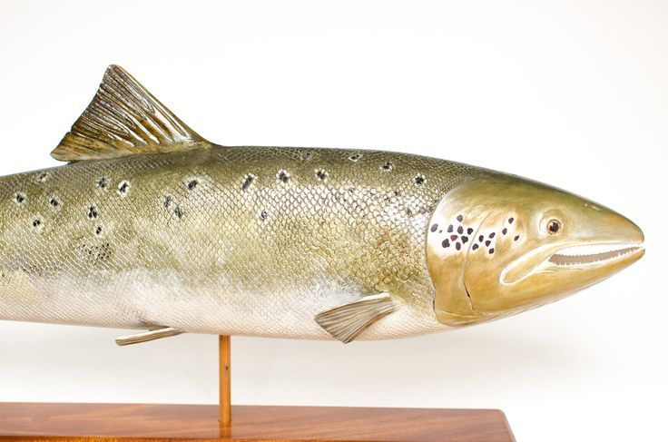 Mark Bennett Atlantic Salmon Carving