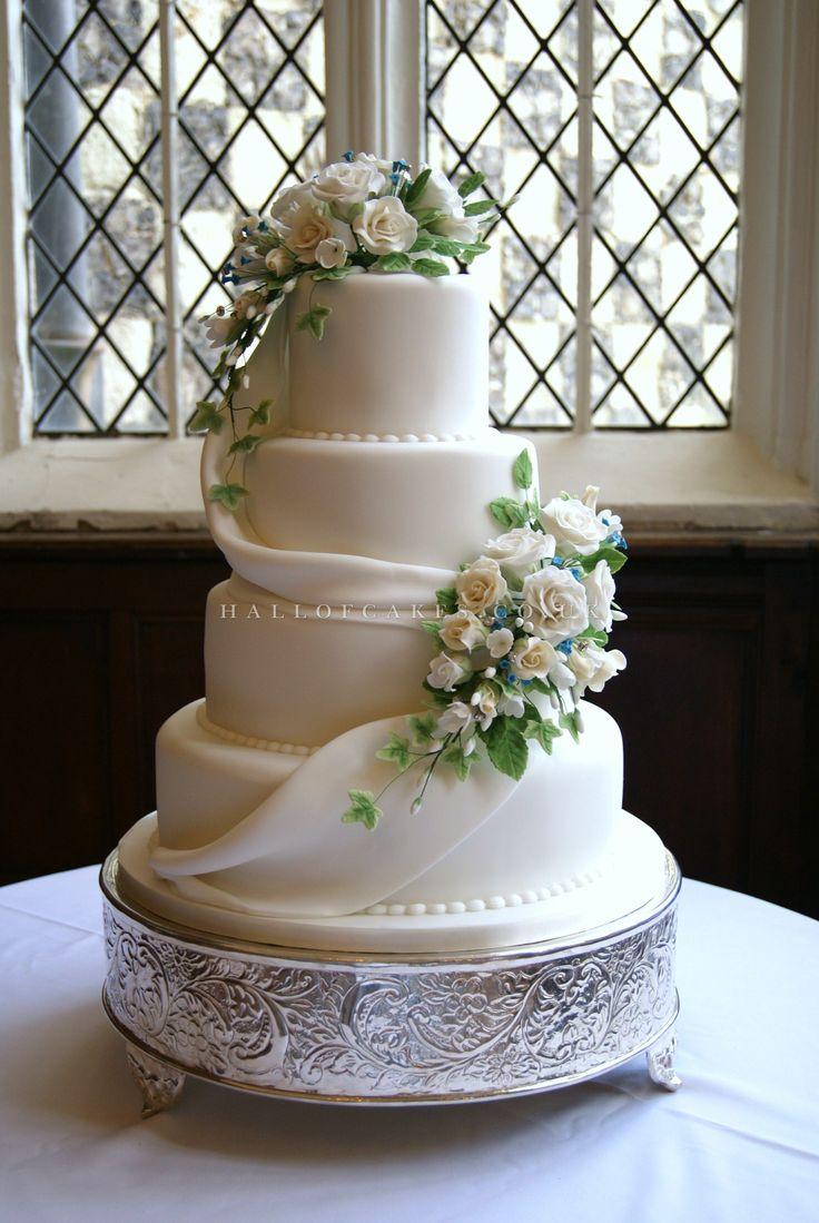 690 best wedding cakes with flowers images on pinterest cake hall of wedding cakes designs by nicola hall izmirmasajfo Images