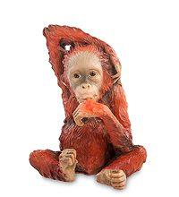 """WS-761 Статуэтка """"Детеныш орангутанга"""" скульптура обезьяна символ года 2016 новогодние подарки на новый год сувениры фигурка обезьянка новогодняя купить"""