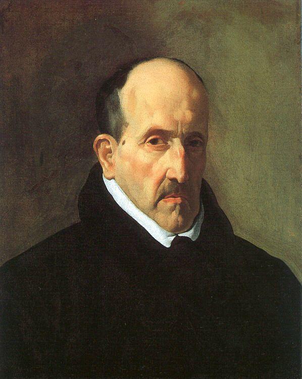 Poesía de Luis de Góngora (retrato atribuido a Velázquez)