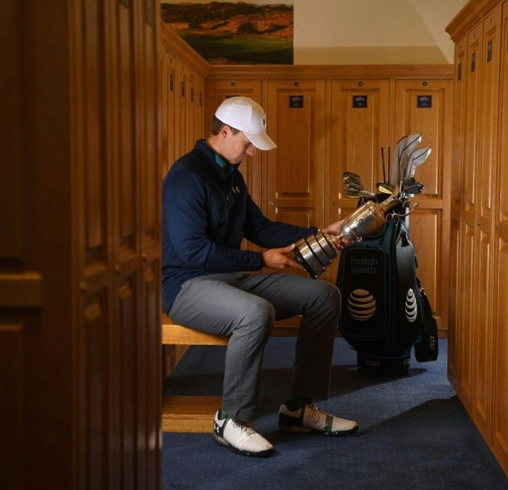 Remembering those who came and won before him...World Champion Golfer of the World! Jordan Spieth American PGA Golfer