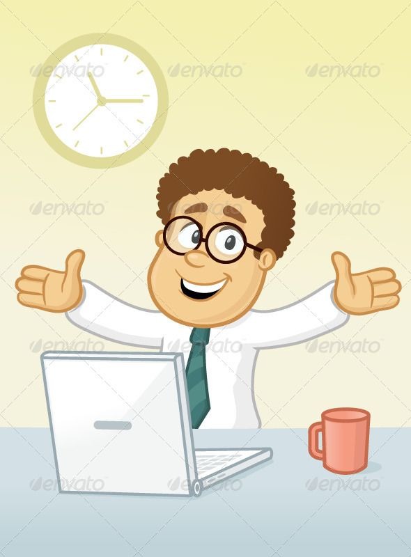 Realistic Graphic DOWNLOAD (.ai, .psd) :: http://jquery.re/pinterest-itmid-1007037814i.html ... Hapy Day In Office ...  adult, arms spread, business, businessman, cartoon, coder, computer, designer, desk, happy, illustration, job, laptop, male, man, office, one, programmer, smiling, vector, worker, working  ... Realistic Photo Graphic Print Obejct Business Web Elements Illustration Design Templates ... DOWNLOAD :: http://jquery.re/pinterest-itmid-1007037814i.html