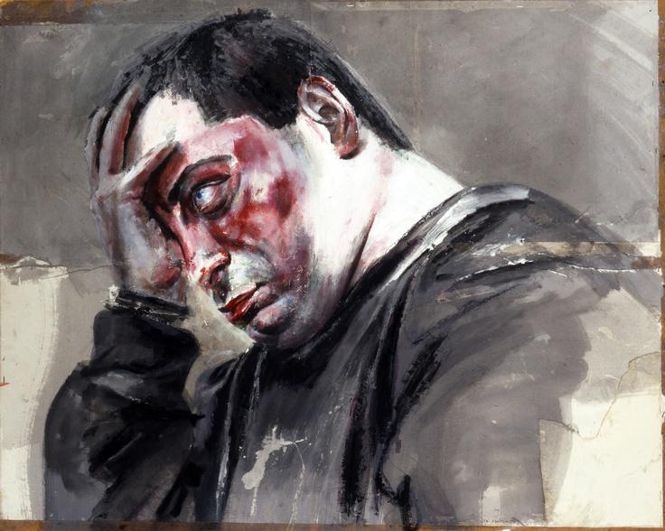 DAVIDE BAROGGI - ritratto dipinto da Francesco Santosuosso