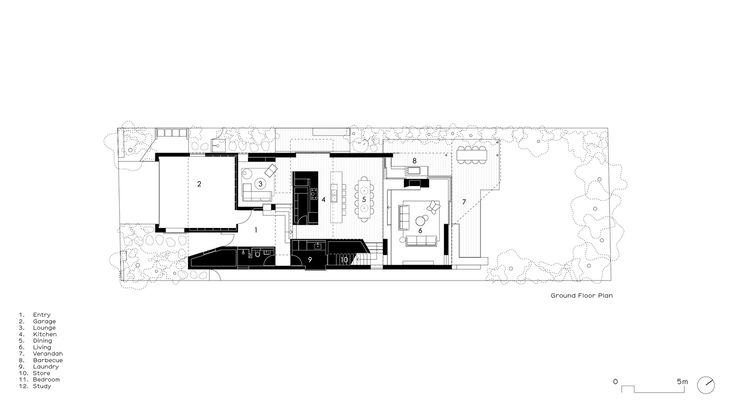 Brick House,Ground Floor Plan