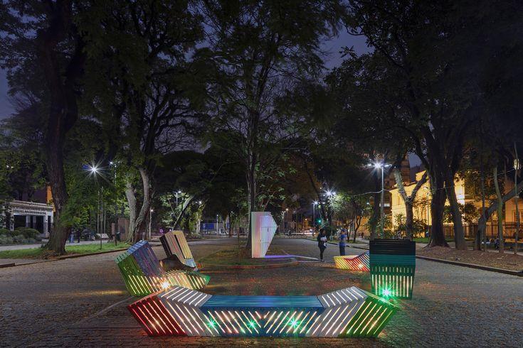 Storytelling Street Furniture Featured in URBE 2016,© Etudio Guto Requena