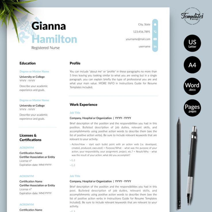 Nursing resume template 2021 nursing resume template