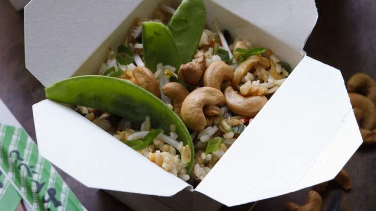 Special vegetarian fried rice