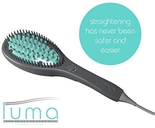 LUMA BRUSH - Hair Straightening 3D Ceramic Brush For All Hair Type - http://health-beauty.goshoppins.com/hair-care-styling/luma-brush-hair-straightening-3d-ceramic-brush-for-all-hair-type/