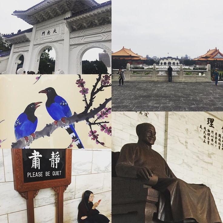 This memorial hall is dedicated to commemorate #ChiangKaiShek  former President of the Republic of #China. It is located in #Taipei #Taiwan.  The site of the Memorial Hall was originally a military base. The honor guards of the #republicofchina armed forces perform military march every day in the main hall where a statue of the chinese leader has been erected. To encourage aesthetic literacy among the public Chiang Kai-Shek Memorial Hall has long held diverse courses designed to strengthen…