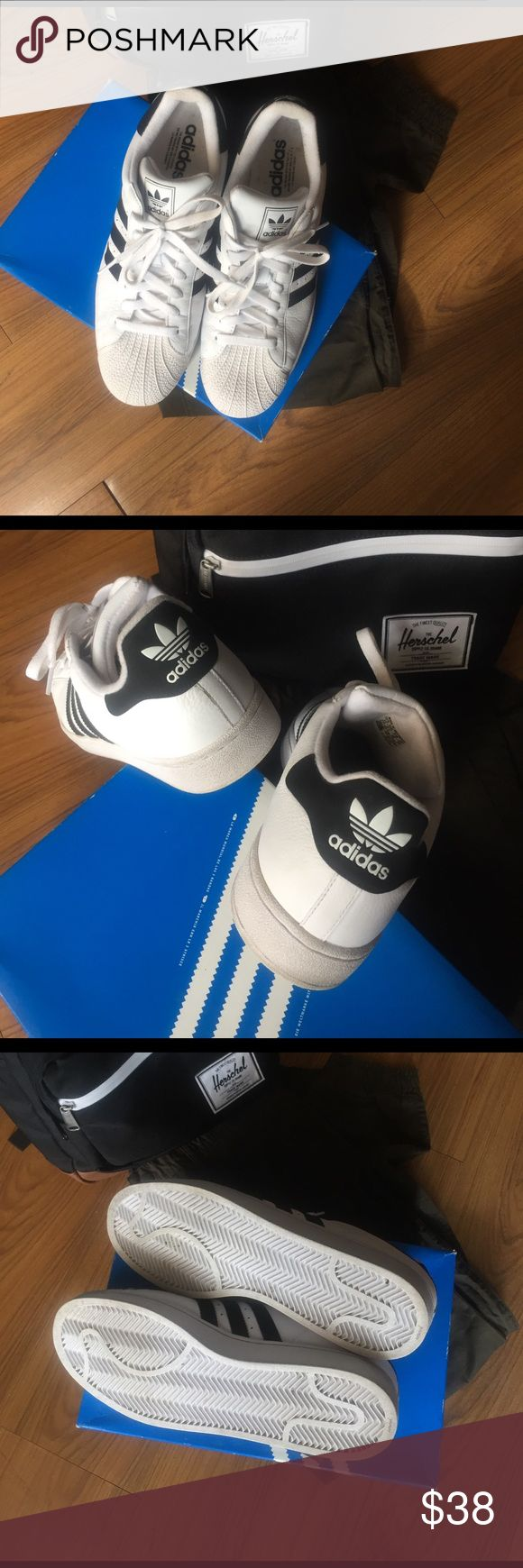 Adidas Originals Superstar II Only worn twice, these classics are in excellent used condition! Will ship in original box! Adidas Shoes Sneakers