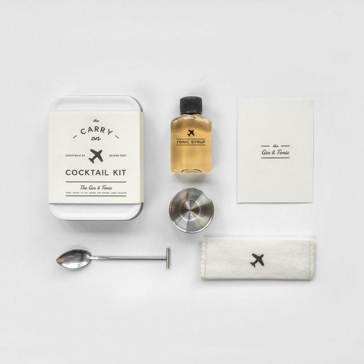 Kit Cocktail de Voyage - Gin Tonic