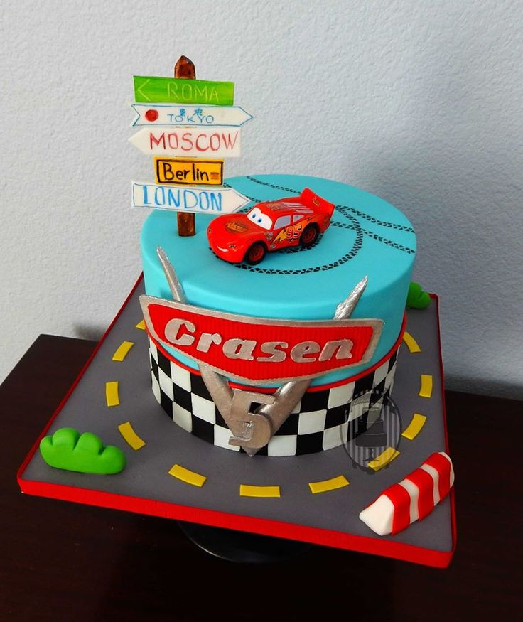 160 best Disney s Cars Cakes images on Pinterest Car ...