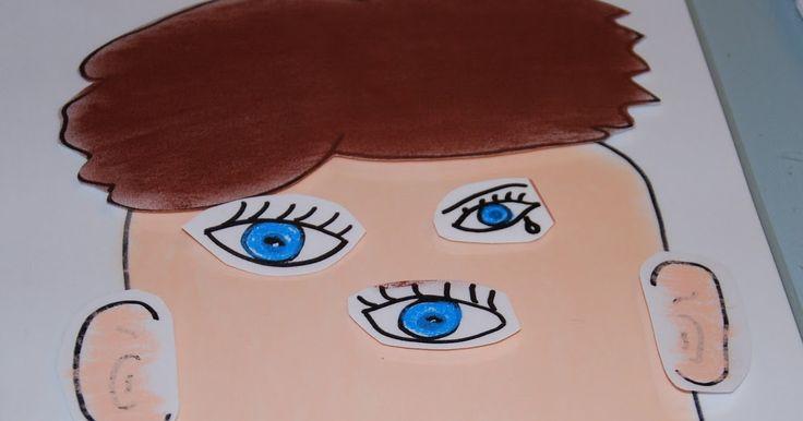 Školní hrátky: Obličej a jeho části