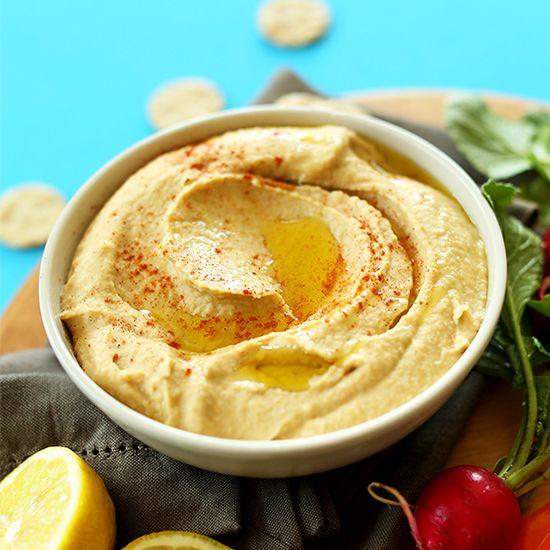 Microwelle Hummus Rezept | Minimalistischer Bäcker