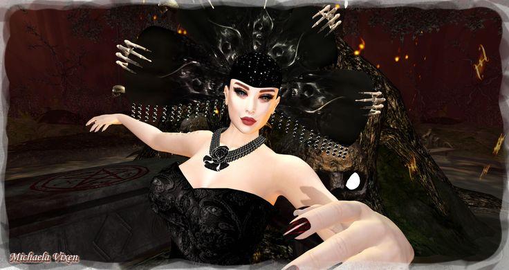 https://flic.kr/p/ML72Eo   Michaela - Gothic Halloween - Scene 1 (2)   Gothic Halloween - Scene 1  Location: Vixen's Creative Studios Photographer & Model: Michaela Vixen (VampBait69) Set Design & Creation: Michaela Vixen (VampBait69)  Vixen's Log - More Info & Credits Here