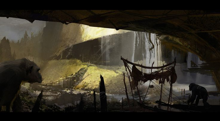 War for the Planet of the Apes: Concept Art & Illustration Collection  -  Concept Art - War for the Planet of the Apes is a MovieDirected by Matt Reeves, Produced by Peter Chernin, Dylan Clark, Rick Jaffa, Amanda Silver and Written by M...