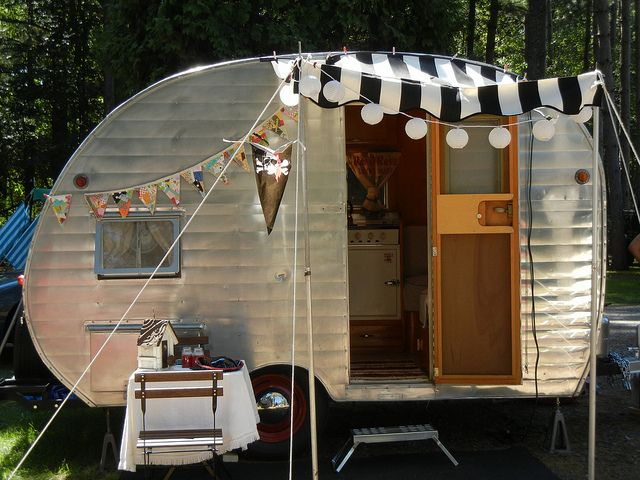 179 Best Glamping Images On Pinterest Vintage Caravans