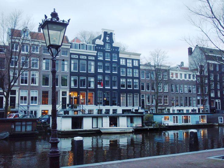 HOLLAND - AMSTERDAM canal