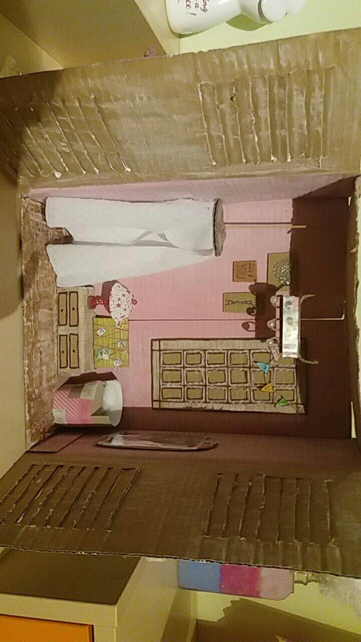 Cute little vintage house.My DIY