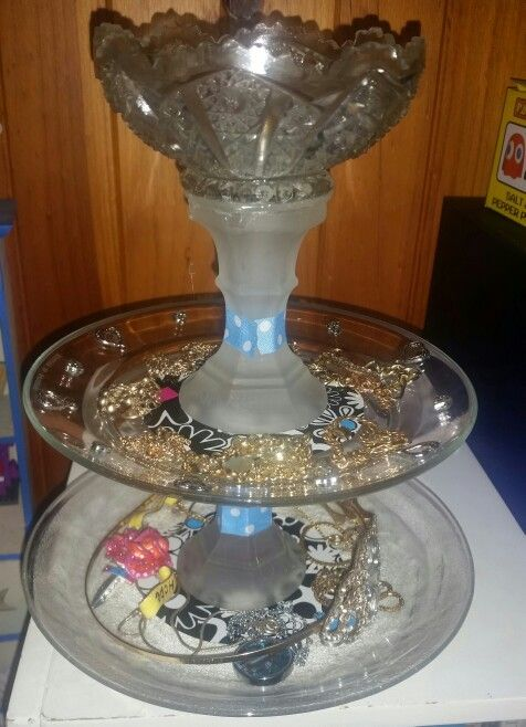 Cute little jewellery holder made for under $5