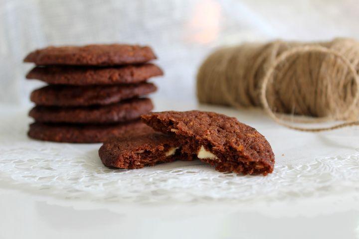 Kookos-valkosuklaacookiet - Jannen Keittiössä ruokablogi