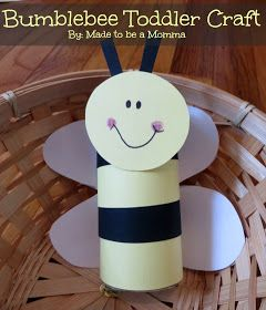 Made to be a Momma. : Bumble Bee Toddler Craft