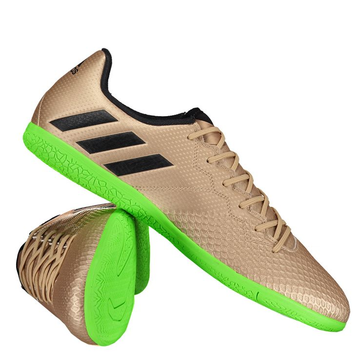 Chuteira Adidas Messi 16.3 IN Futsal Dourada Somente na FutFanatics você compra agora Chuteira Adidas Messi 16.3 IN Futsal Dourada por apenas R$ 269.90. Futsal. Por apenas 269.90