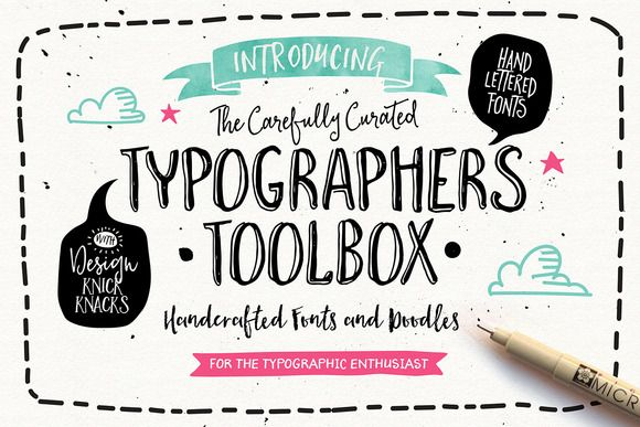 The Typographer's Toolbox by Nicky Laatz on Creative Market