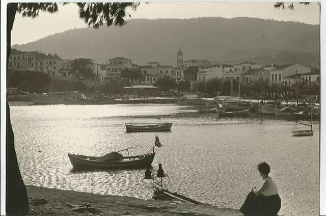 SKIATHOS 1962 ΦΩΤ.ΣΤΑΥΡΟΣ ΜΙΤΖΕΛΟΣ
