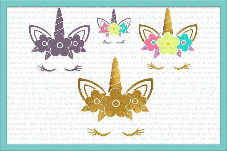 Unicorn Head Svg Dxf Png Eps Jpg Pdf Designbundles Net Unicorn Head Graphic Design Tools Unicorn Svg