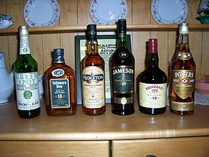 Don't forget about the Irish Whiskey this St. Patrick's Day.