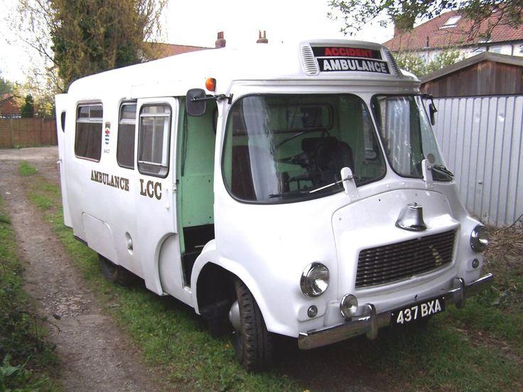 Rare Austin  Wandsworth  Ambulance 1959