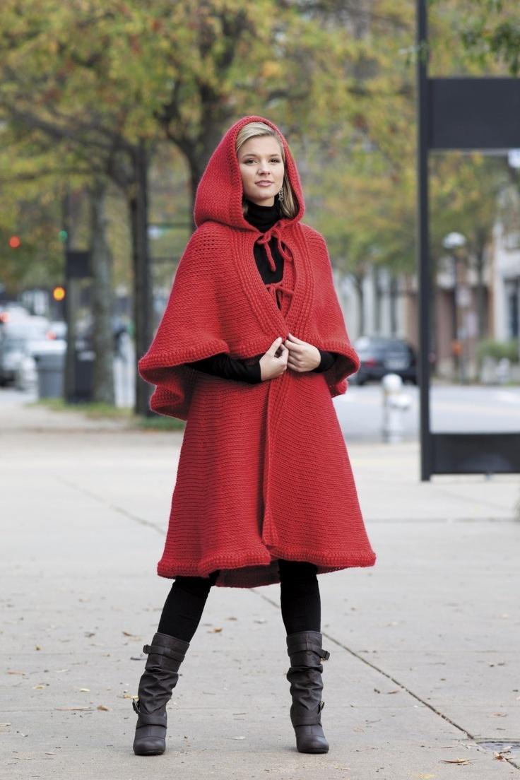 Short Row Tunisian Fashion Crochet Patterns Cloak Cape Hats Scarf Wrap Cardigan