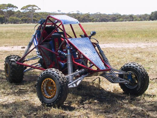 Build a Go-Kart or Off-road Buggy Barracuda, by EDGE Buggies