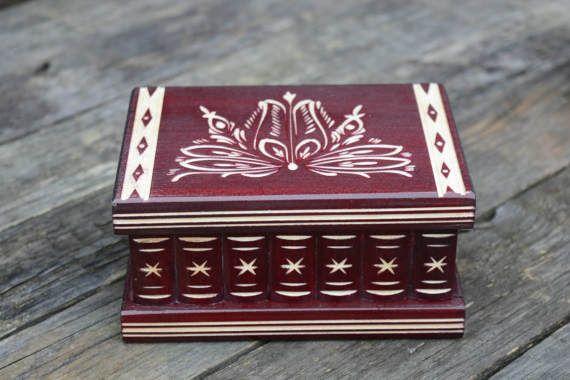 Hungarian secret compartment box puzzle box brain teaser