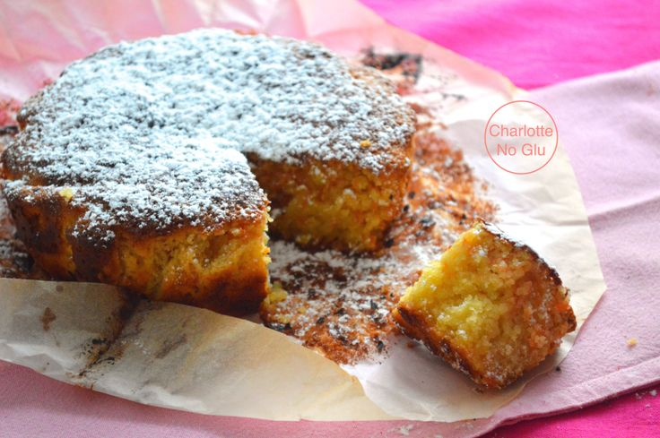 ... gluten, sans lait) - Almond and grapefruit cake (gluten and dairy free