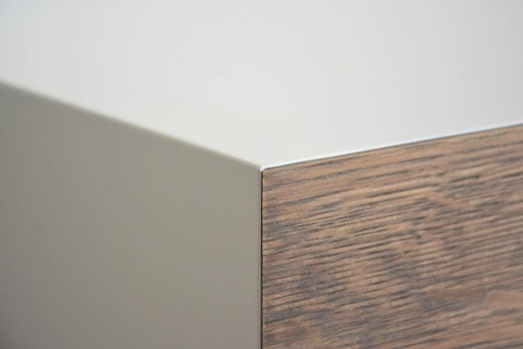 Here is how the drawer front connects to the cabinet #drawer #grey #oak #nightstand #floatingnightstand #bedsidetable #bedroom #interior…